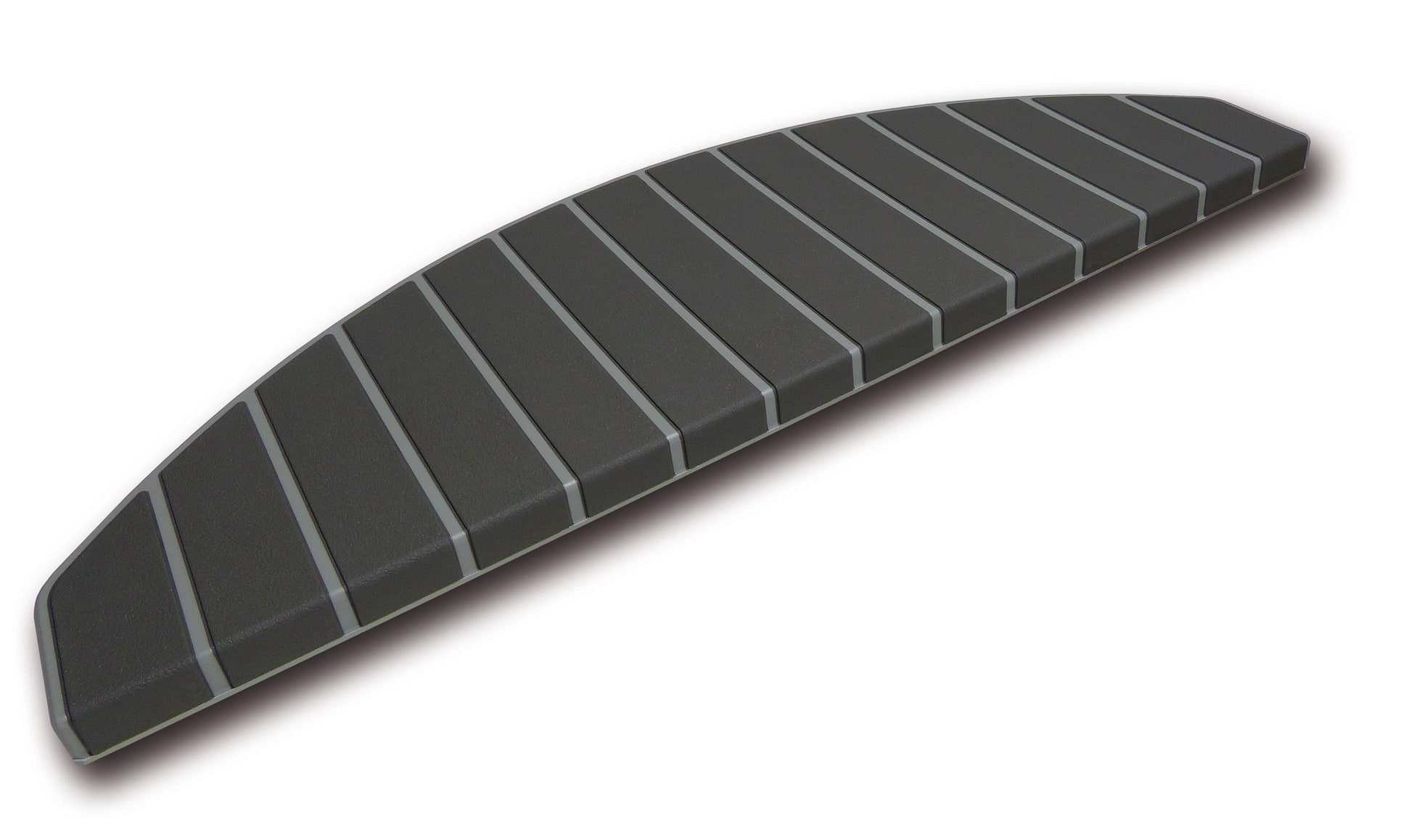 Trapmatten en trapmaantjes grijs antraciet