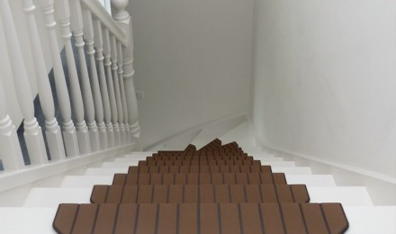 Trapmaantjes trapbekleding bruin