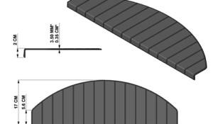 Micostep antislip tTrapmatten en trapmaantjes afmetingen
