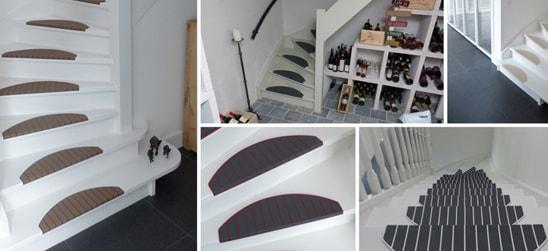 Trapmatten en trapmaantjes van Micostep® zijn er in maar liefst 13 verschillende kleuren