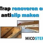 Trap renoveren en antislip maken