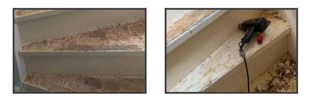 Trap renoveren – trapbekleding verwijderen
