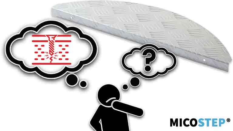 De voordelen en de nadelen van aluminium trapmatten
